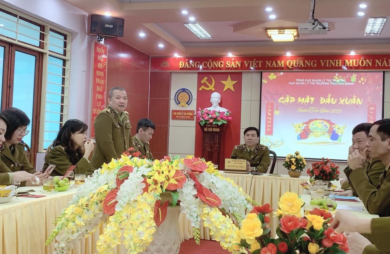 """QLTT Hòa Bình hưởng ứng Tết trồng cây đầu """"Xuân Tân Sửu"""" năm 2021"""